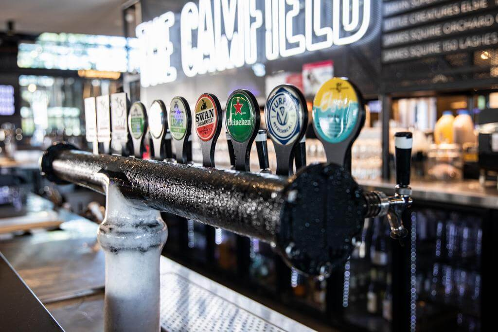 The Camfield draught beer solution