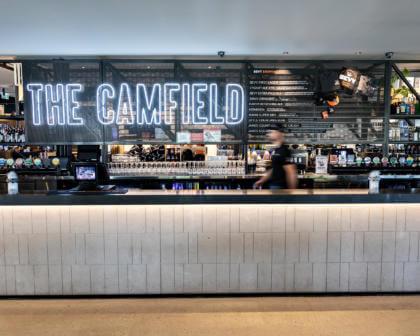The Camfield, Perth, Mega Pub, Bar