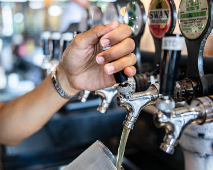 The Camfield, Perth Pubs, Mega Pubs, Beer Taps