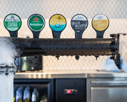 The Camfield, Perth Bars, Mega Pub, Beer Tap