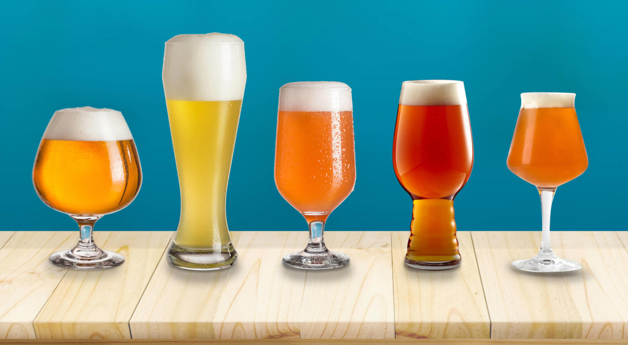 Barons beer glasses guide